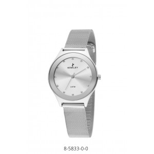 NOWLEY WATCH WITH MESH STEEL STRAP