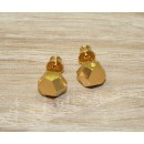 FRUIT BIJOUX GOLDPLATED 8MM EARRINGS