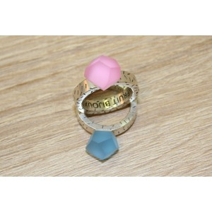 FRUIT BIJOUX SILVER RING BASE WITH DOTS