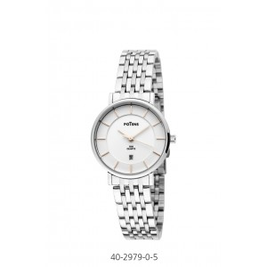 WHITE DIAL POTENS WATCH