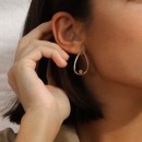 SILVER AND GOLD AROSTEGUI EARRINGS